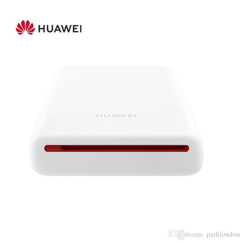 أعلى بيع HUAWEI Zink CV80 Pocket Portable AR Photo Printer Blutooth 4.1 300dpi في مصغرة طابعة صور الهاتف اللاسلكي