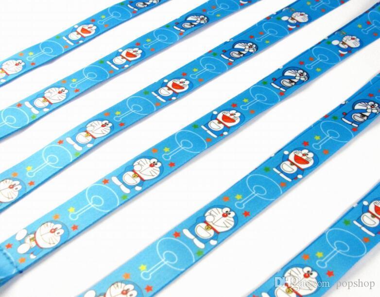 20 PCS Doraemon portachiavi portachiavi portachiavi con portachiavi per cellulare. Spedizione gratuita