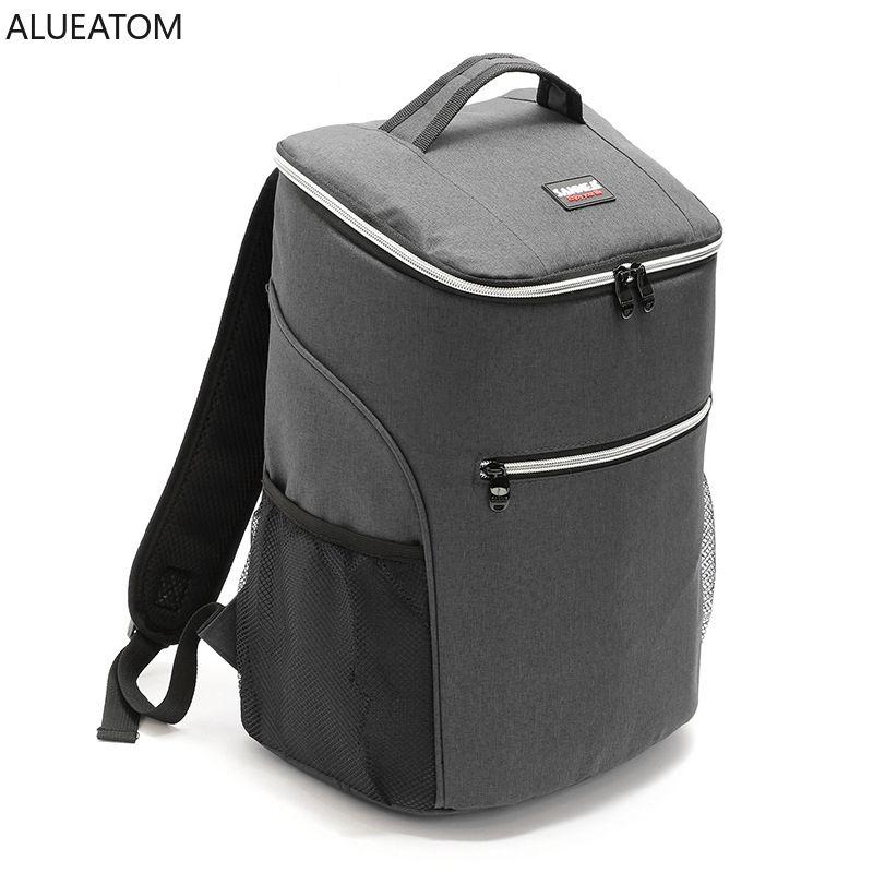 ماء حقائب أكسفورد سميكة تبريد كبير الجليد القدرات حزمة سفر منظم حزمة عودة حراري معزول حقيبة حقيبة الغداء