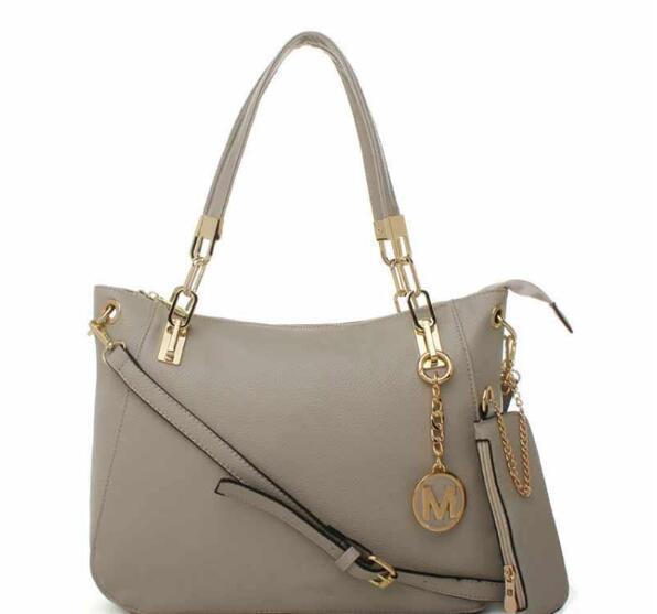 2019Hot vendita borsa zaino di spalla delle signore delle borse di marca di cuoio nuova moda delle donne le borse del progettista famoso Tote bag i raccoglitori della borsa 8875 ### MK
