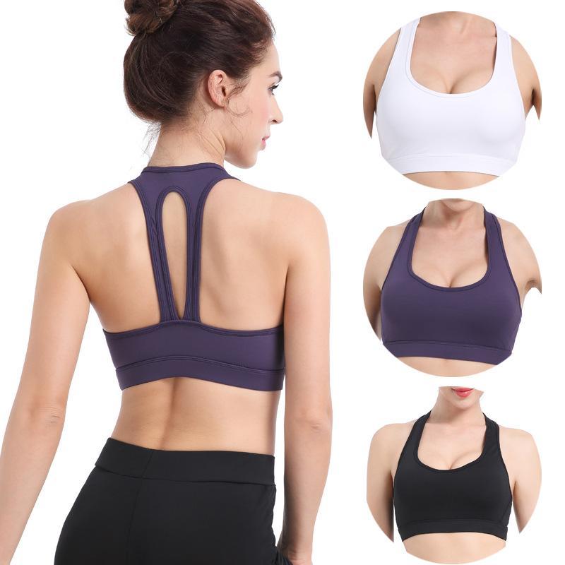Yogaworld High Strength Unterstützung Yoga Sport-BH, schnelltrocknende und schlagfest Laufen Sammeln und Anti Absacken Fitness Sport-BH