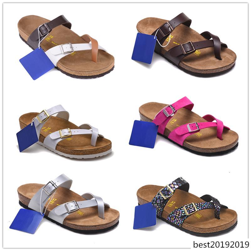 NUOVO Arizona Mayari 2019 New Beach Estate Cork Slipper Infradito Sandali Le donne degli uomini di colore casuali Scarpe Slides piano di trasporto EUR 34-46