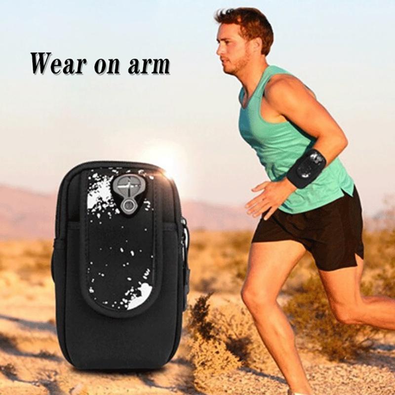 Çanta Kol Kemer Cep Telefonu Bag Koşu Spor Kol Paketi Poly Cep Telefonu Tutucu Vaka Koşu Gym 6.5 İnç Ekran için
