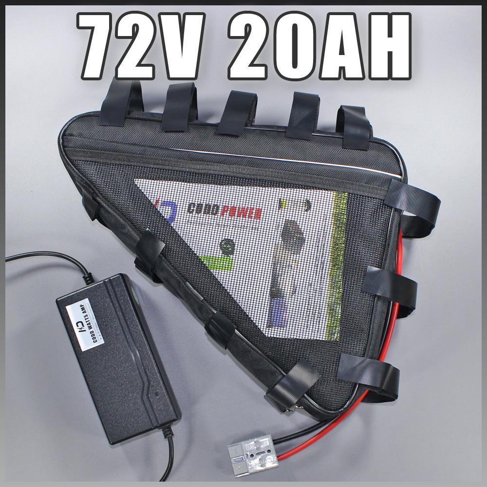 72 v 20ah ebike 72 v 2000 w bicicleta elétrica da bateria de iões de lítio da bateria para a bicicleta elétrica celular Samsung sem impostos