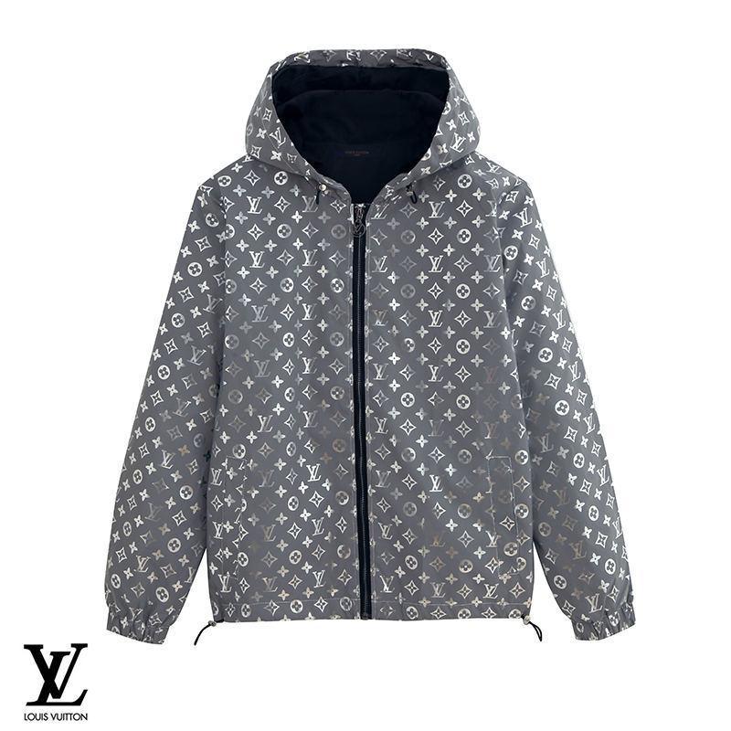 Printing Reflective Jacket Coat Hoodie Hooded Windbreaker Zipper Long sleeve