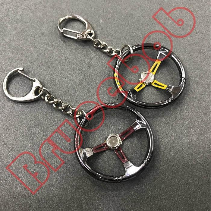 Quality Metal Gift NRG Steering Wheel Key Ring Key Chain Quick Release Model