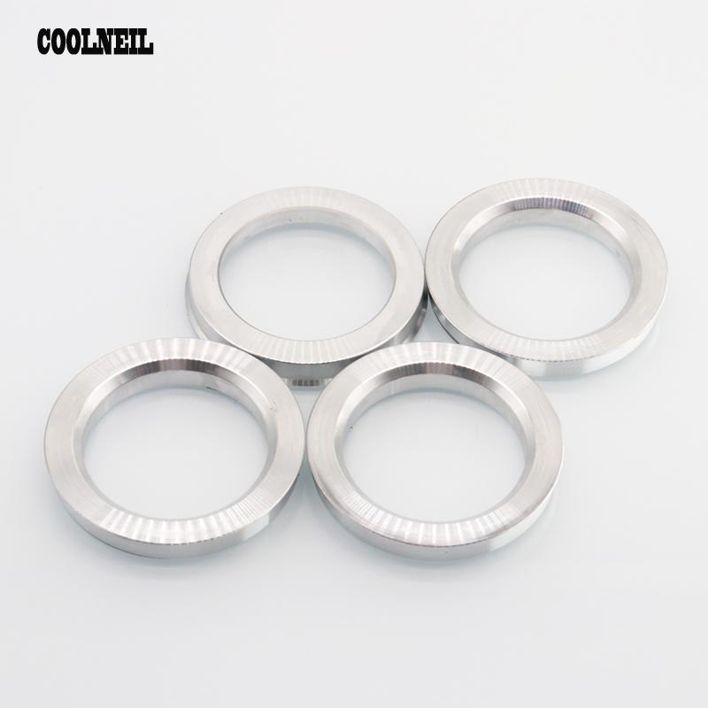 4 anillas de centrado aluminio Alu anilla 70,0-57,1