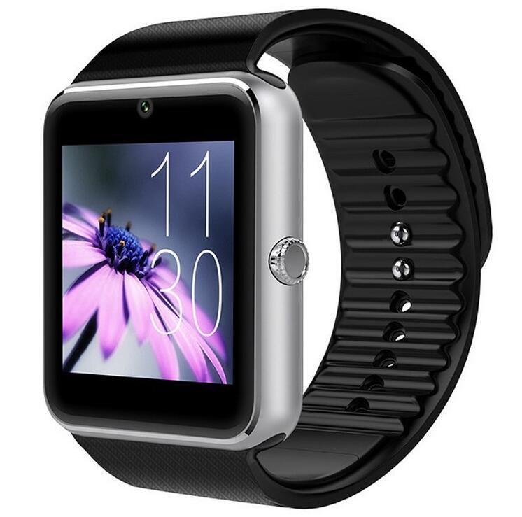 Bluetooth Smart Watch GT08 Unterstützung SIM-TF-Karte Kamera Armbanduhr Telefon-Anruf Smart Watch Für Android IOS Unterstützung für mehrere Sprachen