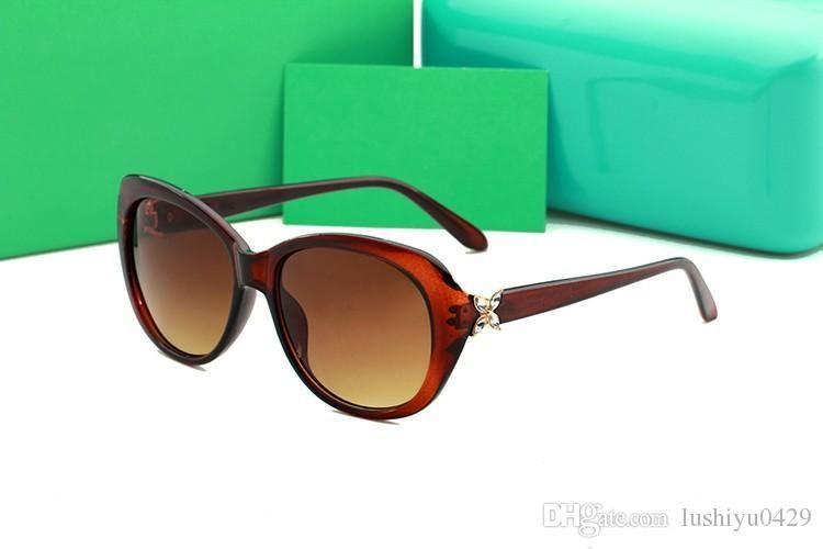 Mode Heißer Verkauf 4048 New Luxury Diamante Marke Sonnenbrille für Frauen Mode Brille Designer Trendy Sonnenbrille UV400 mit Box