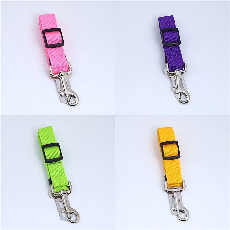 Nylon Dog Leads guinzaglio con doppi manici 3 colori riflettenti Pet trazione a fune per la formazione # 772