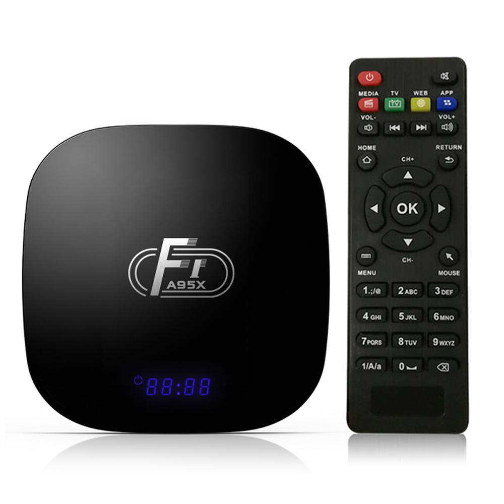 A95X F1 Smart Android 8.1 TV BOX 1GB 8GB Amlogic S905W Quad-Core Media Player Set Top Box PK X96 TX3 mini