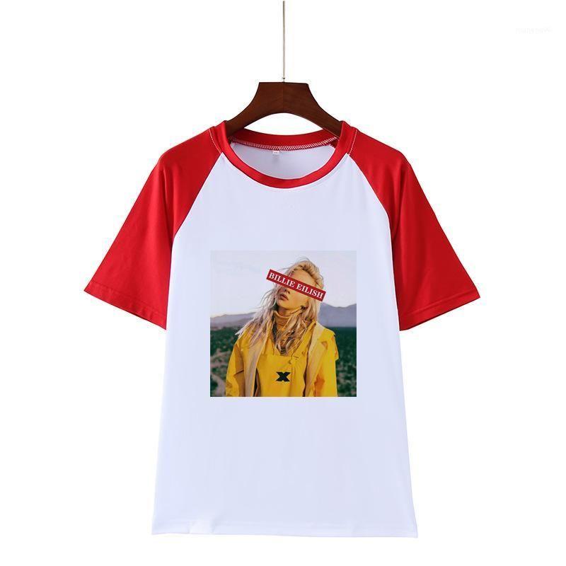 Summer Casual Short Sleeved Crew Neck Pullover T Shirts Fashion Womens Tees Billie Eilish Designer Tshirts Women Printed