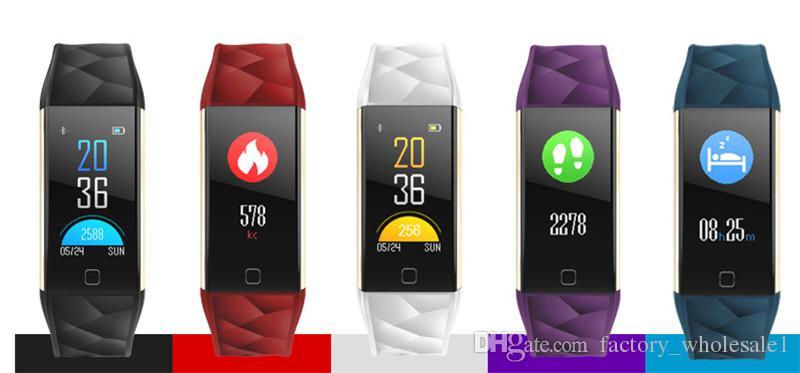 Écran couleur chaude 0.9inch T20 Bracelet Intelligent Rappel de Téléphone Natation Moniteur de Fréquence Cardiaque Moniteur de Fitness Tracker Intelligent Bande Bracelet de Sport