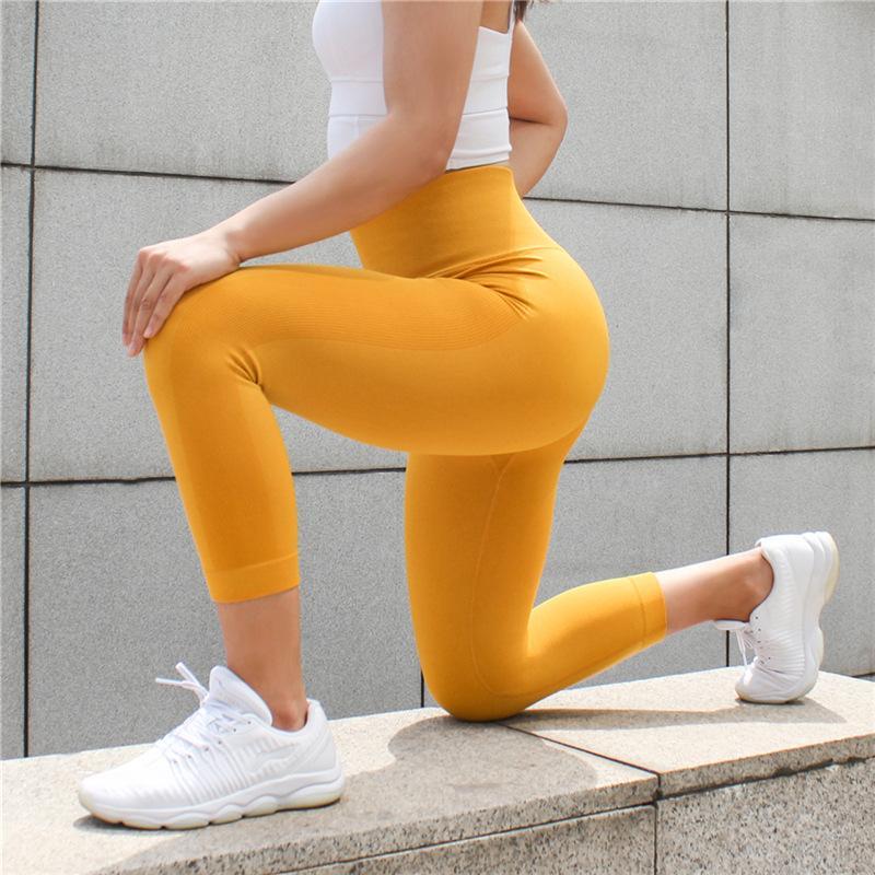 Yoga Outfits Pants Women High Waist Seamless Sport Leggings Leggins Gym Clothing Workout Sportswear Fitness Running Tights