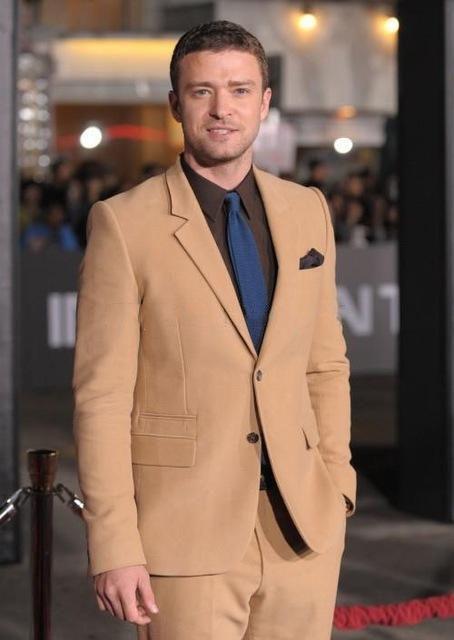 Yüksek kalite iki düğmeler düğün Damat Smokin Çentikli Yaka erkek Akşam Yemeği Parti iki adet Suits (Blazer+pantolon) opp torba başına bir Set