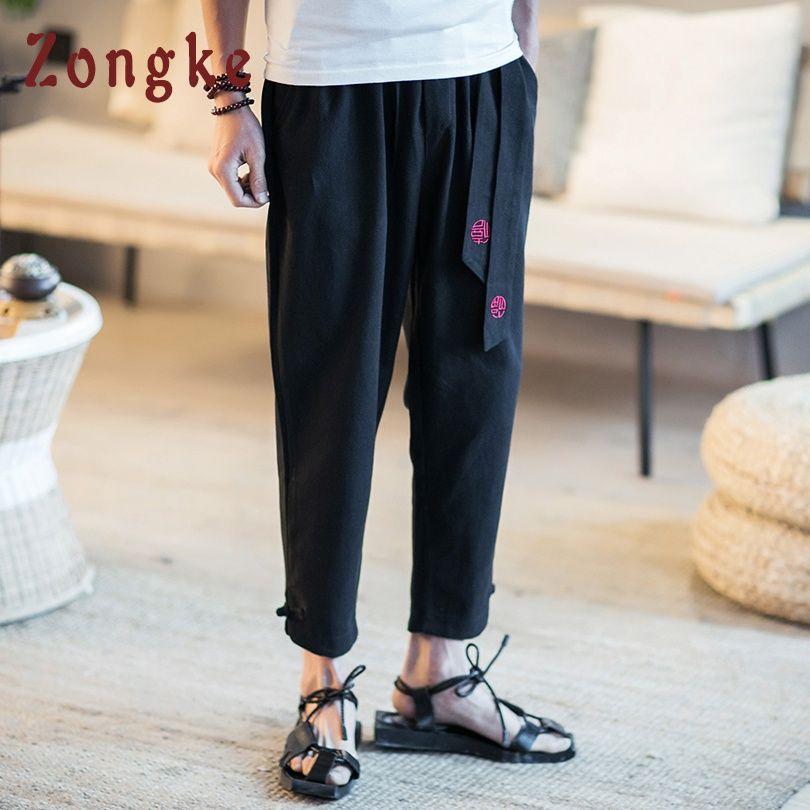 Commercio all'ingrosso stile cinese pantaloni alla caviglia pantaloni da uomo streetwear pantaloni sportivi pantaloni hip hop uomo abbigliamento pantaloni uomo pantaloni 2019