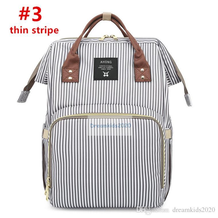 سلسلة شريط حفاضات حقيبة، ذات قدرة كبيرة متعددة الوظائف حقيبة، حقيبة، حقيبة يد الأمومة الحفاض حقيبة سفر على ظهره حقيبة Desiger التمريض للأطفال