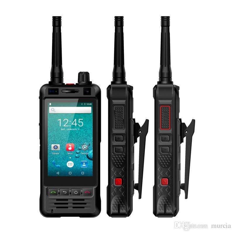 Origianal Rungee W5 Telefono antiurto Walkie Talkie IP67 Telefono impermeabile Batteria da 5000mAh Fotocamera da 5 MP Android 6 smartphone 2018 Nuovo arrivo