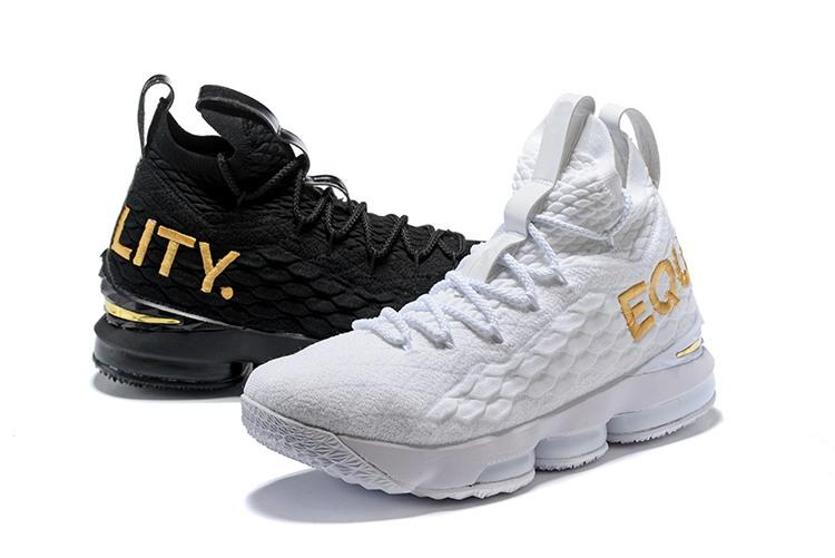 black and white equality shoes