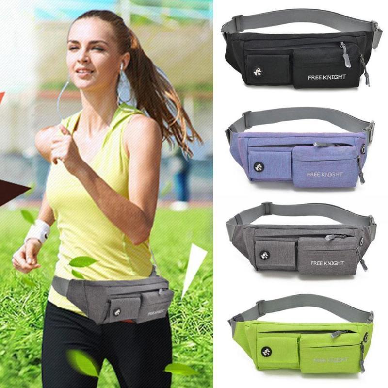 miuse Travel Fanny Bag Waist Bag Bumbags for Running Hiking Waist Bag Outdoor Sport Hiking Waistpack Money Belt Pouch for Men Women Black
