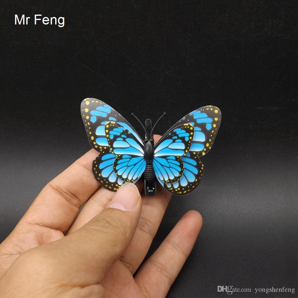 DIY Spiel PVC Schmetterling Clip Art Modell Tierspielzeug Kind Lehre (Modellnummer I282)