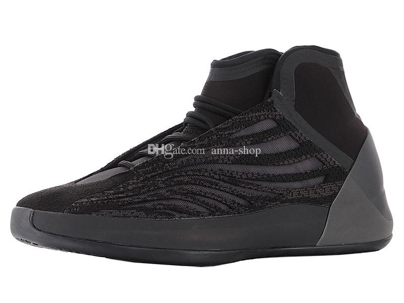 Scarpe da basket da uomo per uomo Triple Sneakers 3M nere Uomo Scarpe da ginnastica Kanyewest Uomo Scarpe sportive da uomo Kanye West Chaussures sportive