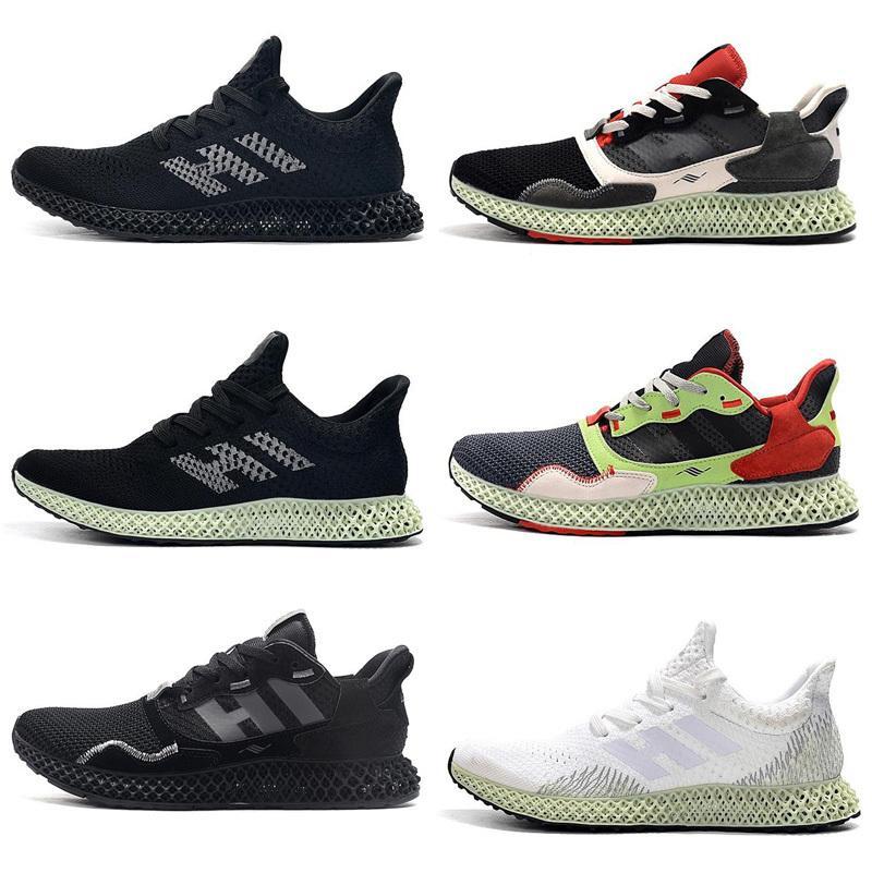 Mens ZX4000 Futurecraft 4D zapatos de las mujeres s ZX 4000 diseñadores zapatilla de deporte de la zapatilla de deporte 40-45 correr