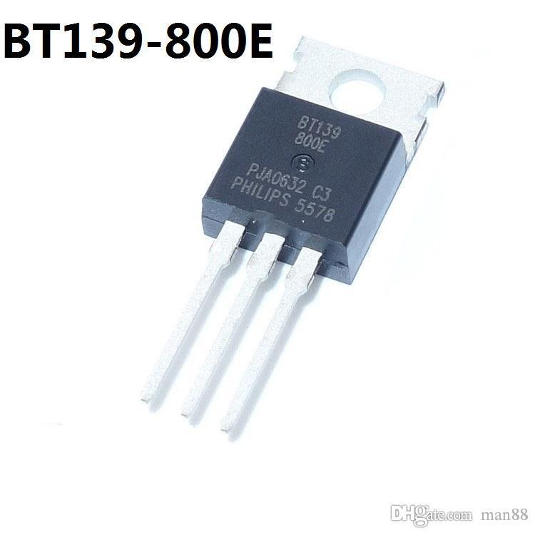 BT139-800E TO-220 في اتجاهين الثايرستور 16A / 800V