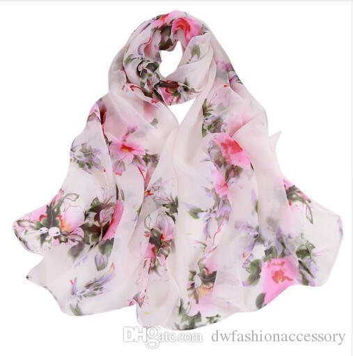 NEW Bandana Floral Printed Scarves Women Autumn Winter Boho Beach Shawl Girls Elegant Ladies Casual Long Soft Wrap Scarf