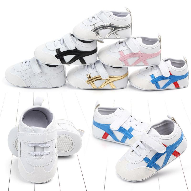 Wholesale 50 Pairs Spring And Autumn 0-1 Years Old Newborn Baby Boy Girl PreWalkers Soft Sole Soft-soled Non-slipToddler Booties Shoes