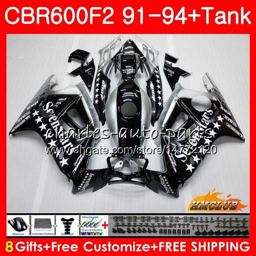 Cuerpo + Tanque En HONDA CBR 600F2 CBR 600 FS 1991 1992 1993 1994 40HC.124 CBR600FS 600cc CBR600 F2 CBR600F2 F2 91 92 93 94 carenados Sevenstars