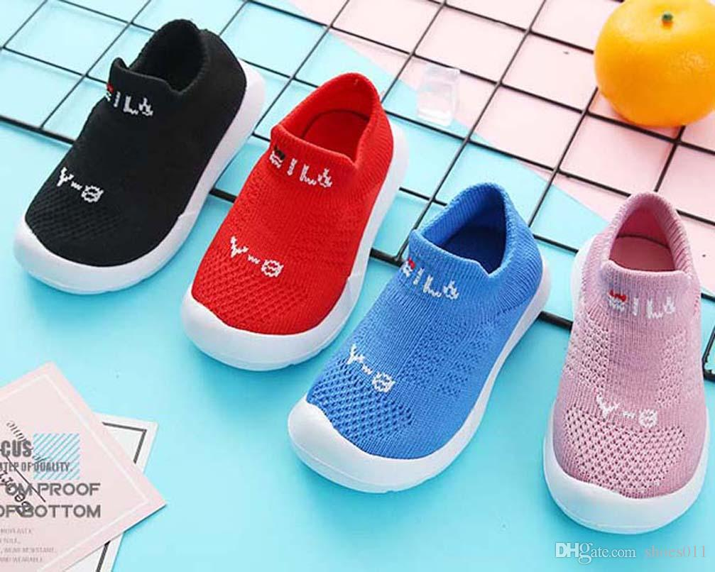 Üst Kalite Klasik Sneaker Moda Akıllı üçlü çocuklar ayakkabı platformu Deri ayakkabılar hava CHAUSSURES shoes011 PX613 enfants CHAUSSURES