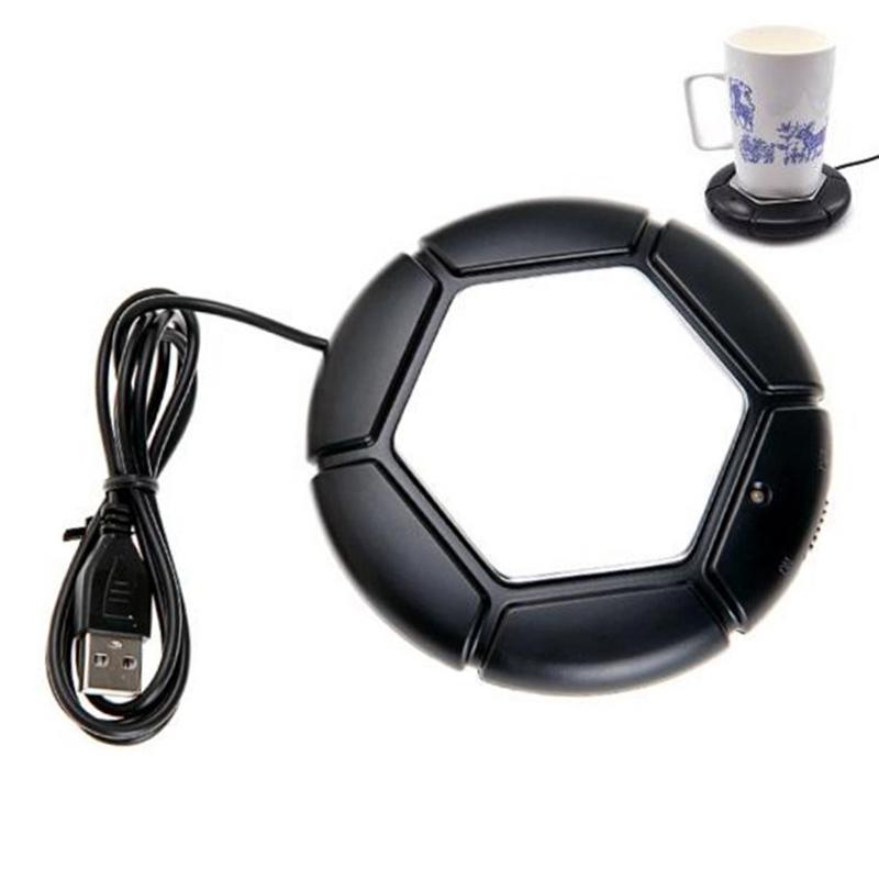 USB Warmer Cup Heater Bandeja Pad Desktop Eletrônico Portátil Placa de Isolamento Térmico Alimentado Cup Caneca Mais Quente Chá Do Café USB Gadgets