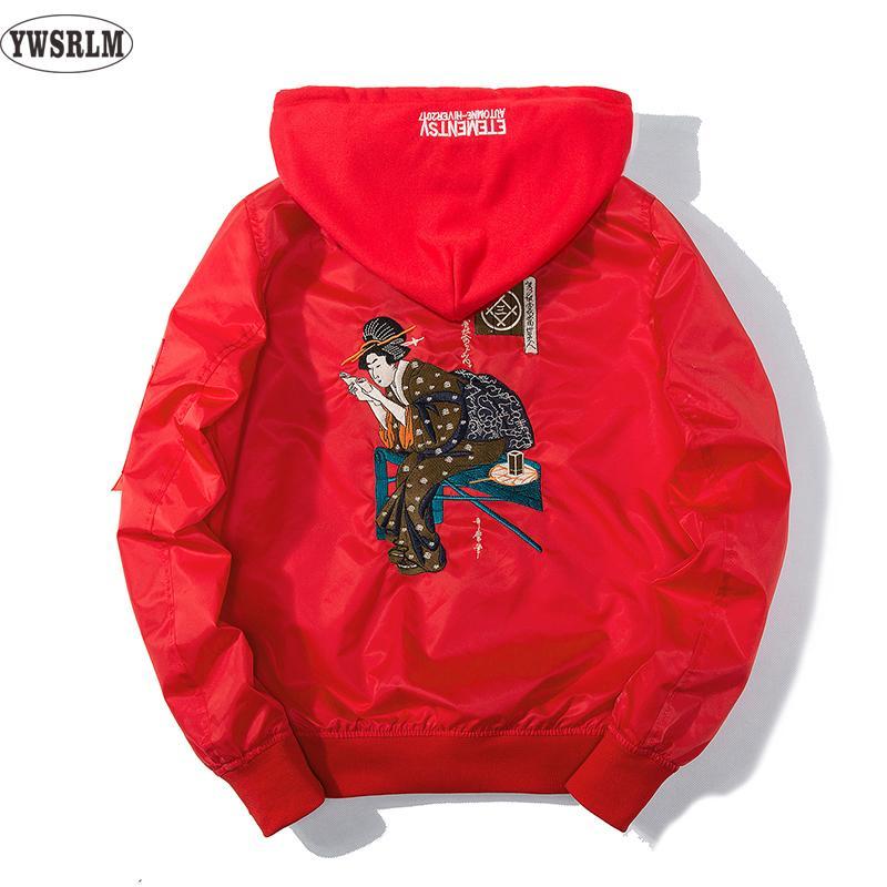 EUA casaco outono japão mulheres homens jaquetas e casacos EUA tamanho xs-xl