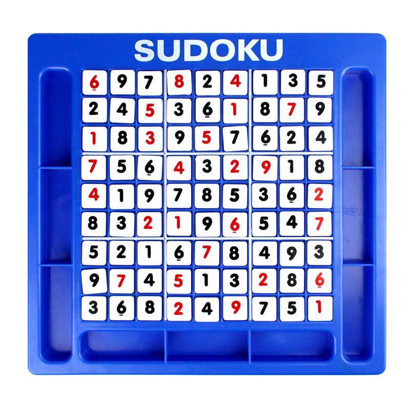 Sudoku Number Game Kids Intelligence Toy Pensamiento lógico Entrenamiento Números árabes Juguetes de Puzzle Juegos de mesa