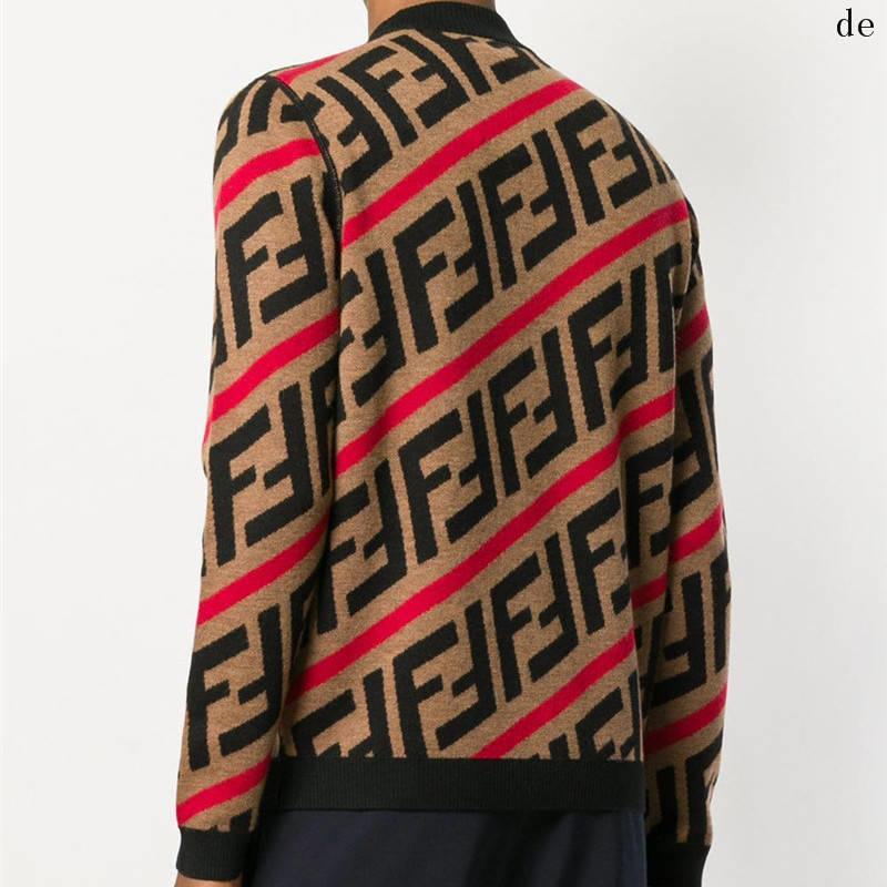 Дизайнер свитер пуловер Мужчины Толстовка с длинным рукавом Толстовка Роскошные Письмо вышивки Трикотаж Winter Мужская одежда Keep WarmdeXC