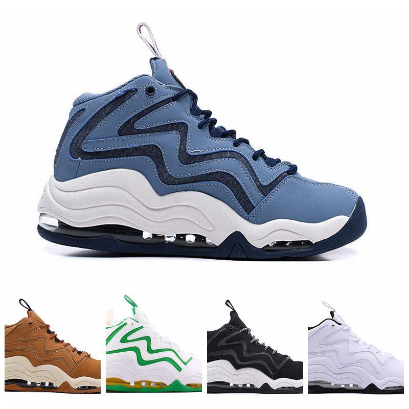 2019 Zapatos Scottie Pippen 1 Uptempo 94 OG trigo azul Trabajo Vastas gris de los deportes de baloncesto buena calidad Negro Azul Blanco para hombre de las zapatillas de deporte 40-46