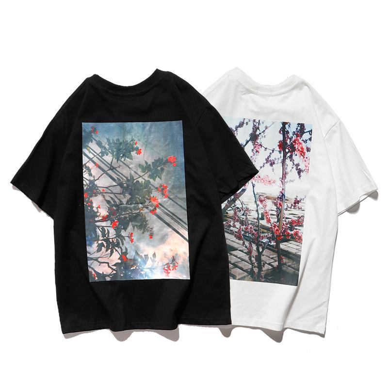 Trasporto libero della camicia di marca di vendita calda del progettista delle donne Mens maglietta Fashion Casual primavera-estate Tees alta qualità maglietta 20031605W