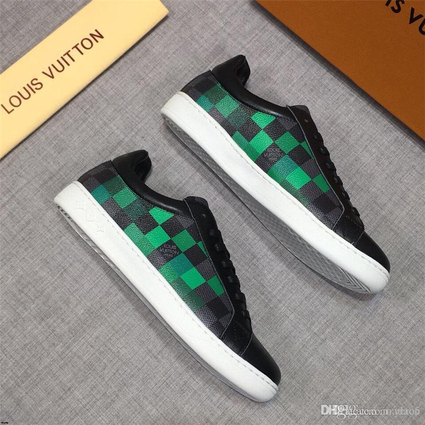 20FW 2020 Uomo scarpe casual per adulti Primavera Autunno Moda Maschile Lace Up confortevoli appartamenti Sneakers Sapato Masculino MADAC