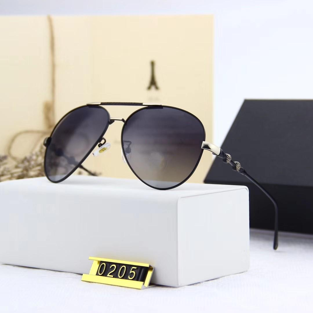Moda Gafas de sol - Las nuevas gafas de sol polarizadas de metal 0252 Polaroid alta definición lente polarizada por la moda de viajes de verano