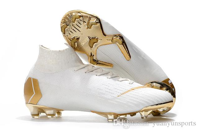 Men/'s High Top Training Ankle AG Sole Outdoor Cleats Football Shoes Spike High