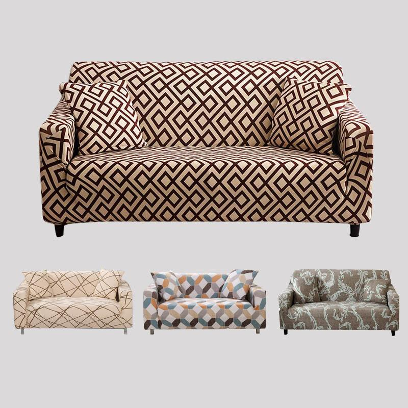 L Shaped Sofa Cover Spandex Slipcover Sofa Set Covers Elastic Covers For  Living Room Housse Canape Sectional Couch Cover Slip Cover Couch Cheap  Chair ...