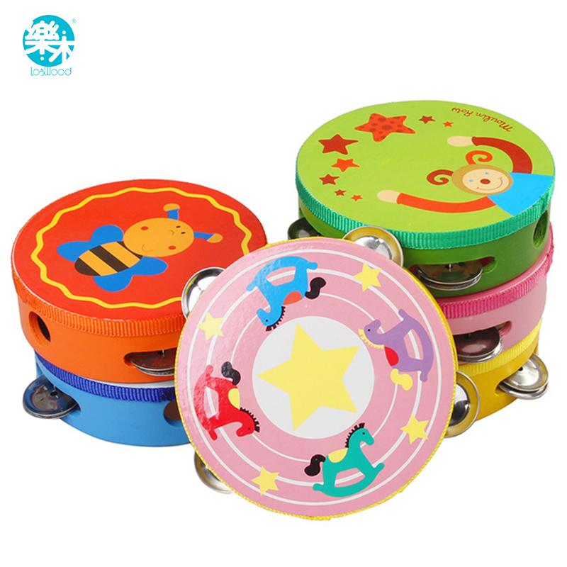 Bebê Musical Educativo//Instrumentos De Percussão Tambourin brinquedos para Crianças Presentes