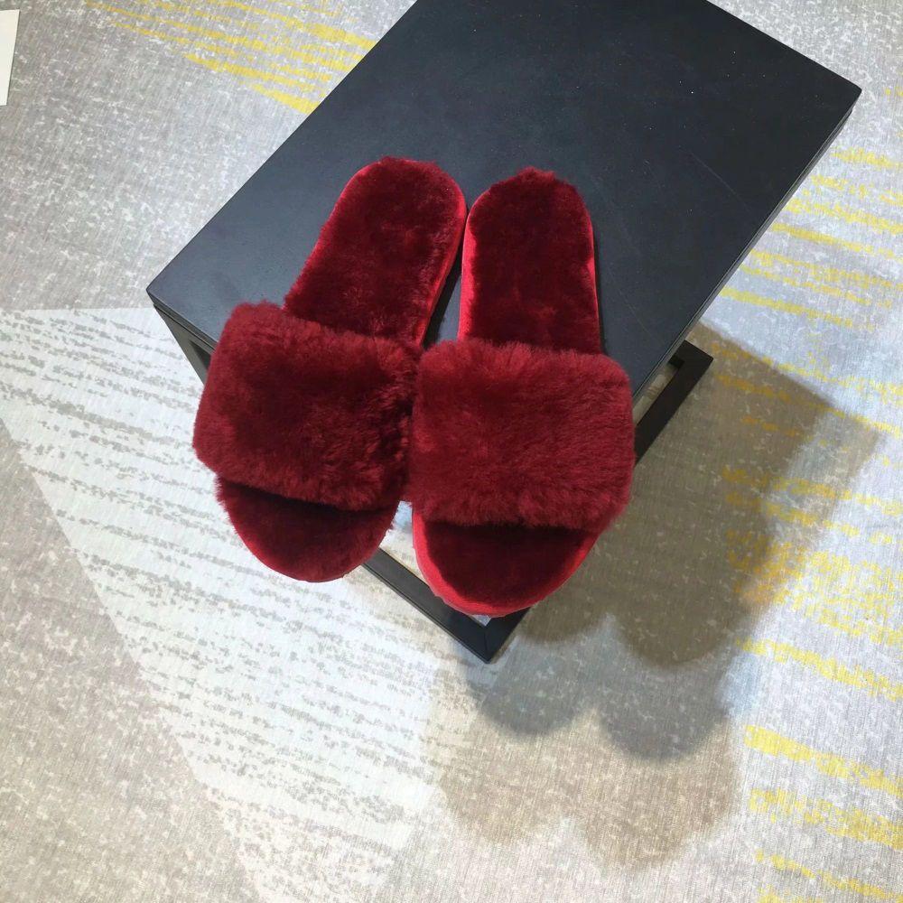 Роскошные женские меховые дизайнерские тапочки-слайдеры. Пушистые тапочки-сандалии-сандалии-слайдеры.