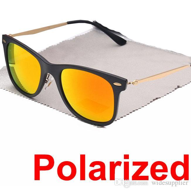 High Quality 4210 Polarized Sunglasses for Men and Women Outdoor Sport metal Dazzle colour Sunglasses Shades Sunglasses Women with case box