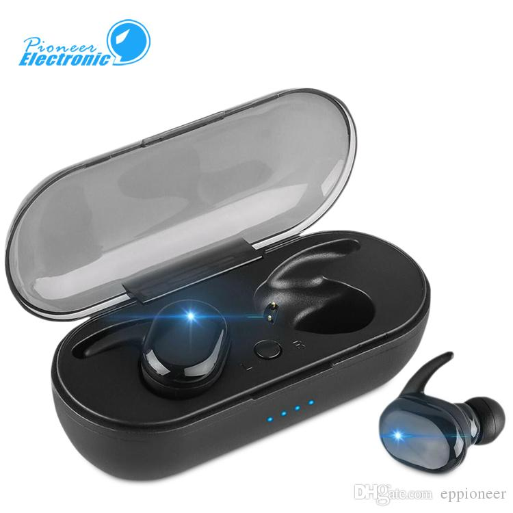 Tws Y30 Wireless Headphones Headsets V5 0 400mah Touch Control Sport Ear Hook Hd Call Sound Double Ear Earphones Earbuds With Package Wireless Cell Phone Headsets Wireless Earphones For Phone From Eppioneer 4 91