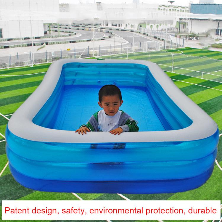 2019 305cm Family Inflatable Pool Above Ground Swimming Pool Kid