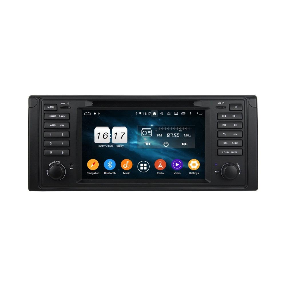 "1024 * 600 HD 1080P 1 DIN 7"" Android 9.0 coches reproductor de DVD para estéreo BMW M5 E39 E53 X5 radio RDS GPS Bluetooth USB DVR 4.2 WIFI"