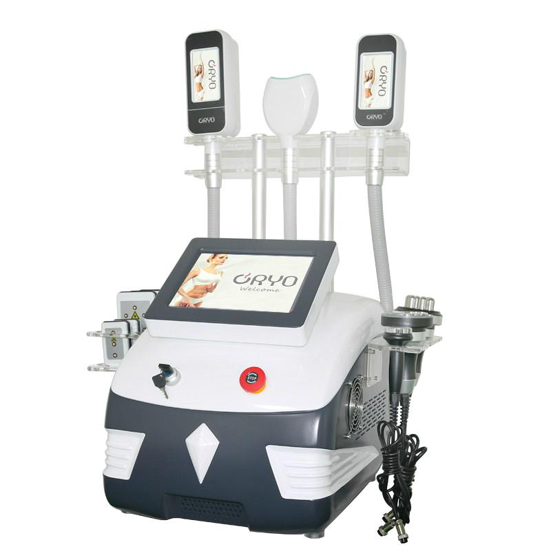 360° Cryolipolysis Weight Reduce Machine 5 in 1 Fat Freezing Cryolipolysis Equipment Double Chin Removal Body Slimming Device