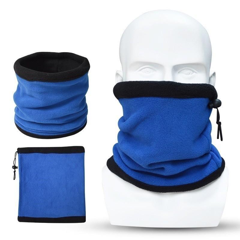 Capas populares dobles multipropósito polar calentador del cuello del calentador del oído, Máscara Hat para deporte al aire libre